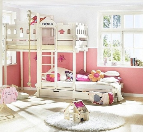 Çocuk Odaları İçin 2018 Ranza Modelleri