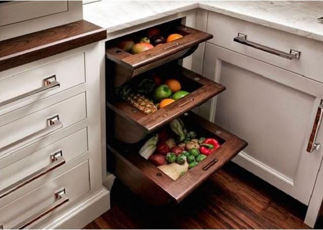 Küçük Mutfaklar İçin Alan Genişleten Şahane Fikirler