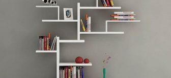Kitaplarınız İçin Yer Bulamıyorsanız Bu Dekoratif Kitaplık Tasarımları Tam Size Göre!