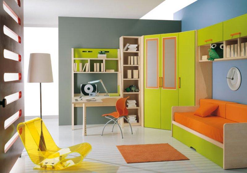 Genç Odası, Çocuk Odası Dekorasyonları Kıpır Kıpır Heyecan Verici