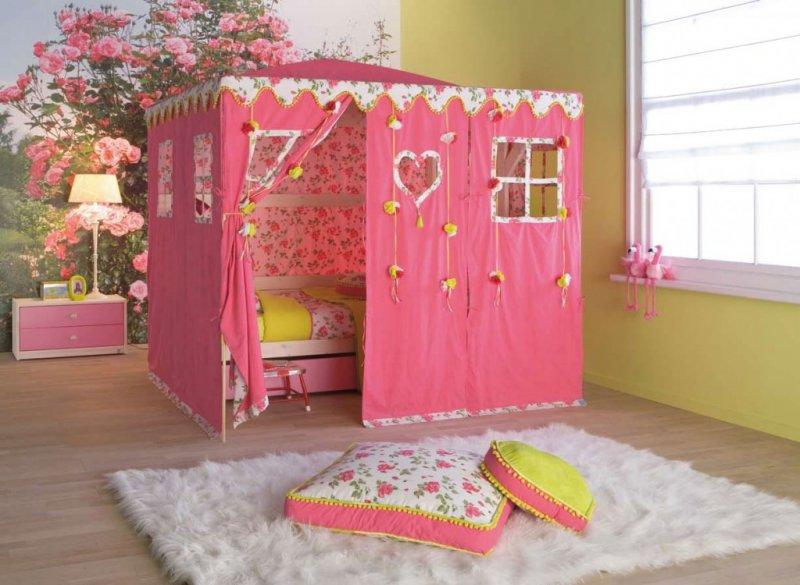 Çocuk Odası Dekorasyonları Kıpır Kıpır Heyecan Verici