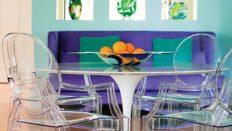 Renkli Yemek Masası Modelleri, Yemek Odası Dekorayonu