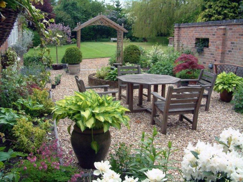 Bahçe İçin Muhteşem Bahçe Dekorasyon Örnekleri