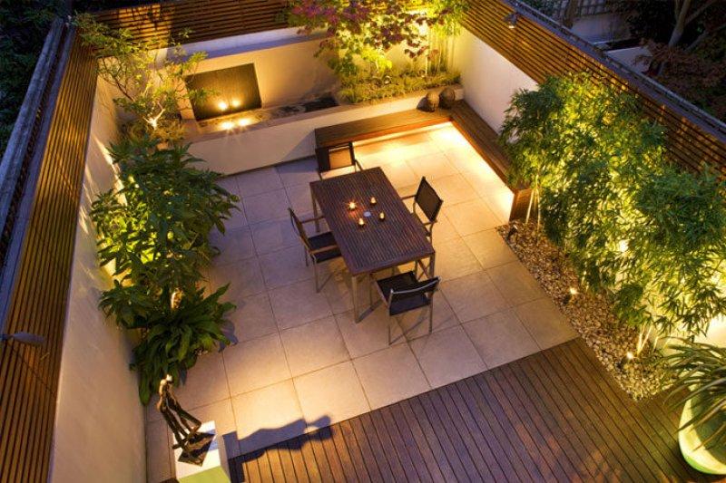 Bahçe Dekorasyonu İçin Muhteşem Bahçe Aydınlatma Önerileri