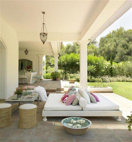 Veranda Bahçe ve Balkon İçin En Güzel Modeller