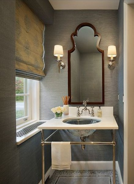 Banyo Dekorasyon Modern ve Klasik Çizgilerin Birleştiği Tasarımlar